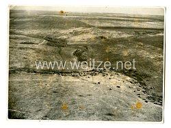 Luftwaffe Foto, Luftaufnahme von der Aufklärungsstaffel 1. (H) 23 südlich Losowenka Sowjetunion am 29.5.1942