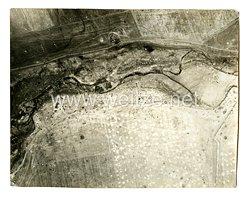 Luftwaffe Foto, Luftaufnahme von der Aufklärungsstaffel 1. (H) 23 südlich Losowenka Sowjetunion am 1942