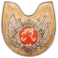 Königreich Preußen Ringkragen für Offiziere im Regiment der Gardes du Corps
