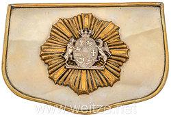 Mecklenburg-Schwerin Kartuschkasten für Offiziere der Dragoner Regiment Nr. 17 und 18