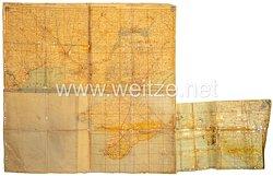 Wehrmacht Stabskarten 1:500 000 Odessa - Saporoshje sowie Anhang Kubanbrückenkopf mit Frontverlauf