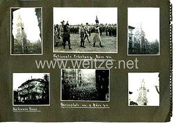 III. Reich Fotos, Wahlplakate zur Reichstagswahl und Ernst Röhm bei der Nationalen Erhebung im März 1933