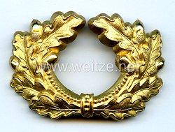 Wehrmacht Heer Schirmmützeneichenlaub für einen General