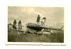 Luftwaffe Foto, abgestürzteJunkers Ju 87 (Stuka)