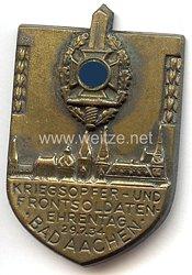NSKOV - Kriegsopfer- und Frontsoldaten-Ehrentag 12.8.1934 Bad Aachen
