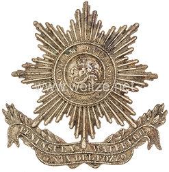 Königreich Hannover Emblem für den Tschako Mannschaften im Garde-Jäger-Bataillon