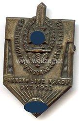 NSKOV - NS Kriegsopfer-Versorgung Ortsgruppe Kassel Fahnenweihe NSKOV Okt. 1933