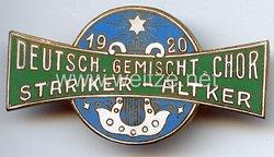 Serbien - Deutsch. Gemischt. Chor Stariker-Altker 1920