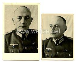 Wehrmacht Portraitfotos eines Leutnants des Heeres mit Kaiserlichen Marine-InfanterieSchulterstücke (Kronenauflagen)