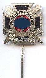 Reichstreubund ehemaliger Berufssoldaten ( RTB ) -Ehrennadel für 25 jährige Mitgliedschaft