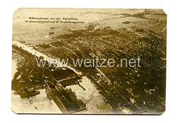 1. Weltkrieg Deutsches Kaiserreich Foto, Torpedokaserne von Wilhelmshaven