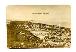 Deutsches Kaiserreich Foto, Borkum aus der Vogelschau