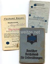 Allgemeine-SS - Truppenausweis der SS-Verfügungstruppe ( Leibstandarte SS Adolf Hitler )