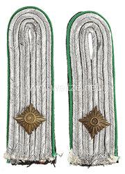 Waffen-SS Paar Schulterstücke für einen SS-Obersturmführer Gebirgsjäger