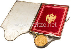 K. u. K. Monarchie/Österreich Urkunde Kaiser Franz Joseph I. (1848-1916) zugunsten Maximilian Thielen (*1781-1865†) zur Erhebung in den Ritterstand