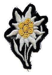 Waffen-SS Mützenedelweiß für Gebirgsjäger