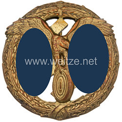 III. Reich Deutsches Motorsportabzeichen 1. Stufe in Gold