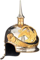 Preußen Helm aus dem Besitz von Oberstleutnant Graf von Korff im Leib-Kürassier-Regiment Großer Kurfürst (Schlesisches) Nr. 1 - in Luxusqualität