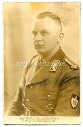 Reichsarbeitsdienst (RAD) - Portraitpostkarte von Gauarbeitsführer Otto Triebel - Führer des Arbeitsgaues VII
