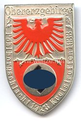 III. Reich - Obererzgebirge Pöhlbergschlacht 1923 Kreistreffen 1933