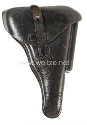 Weimarer Republik Polizei Pistolentasche für die P08 der Schutzpolizei Hannover.