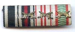 Große Bandspange eines Offiziers der Luftwaffe