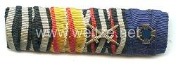 Bandspange eines lippischen Veteranendes 1. Weltkriegs und späteren Beamten