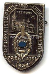 NSKOV - 2. Bad. Frontsoldaten-und Kriegsopfer-Ehrentag 20./21. Juni 1936 Freiburg i/B.