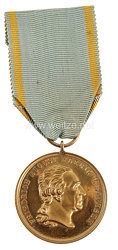 Königreich Sachsen Goldene Militär St.-Heinrich Medaille