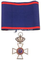 Oldenburg Haus- und Verdienstorden von Herzog Peter Friedrich Ludwig Großkreuz mit der Silbernen Krone
