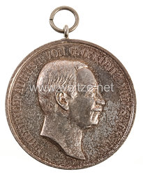"""Sachsen Königreich Friedrich-August 1904-1918 große silberne Schießmedaille Artillerie """"Für Gutes Richten"""""""