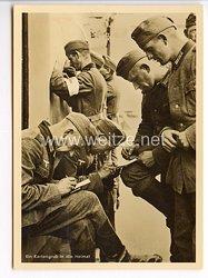 """III. Reich - Propaganda-Postkarte - """" Adolf Hitler in Polen - Ein Kartengruß in die Heimat """""""