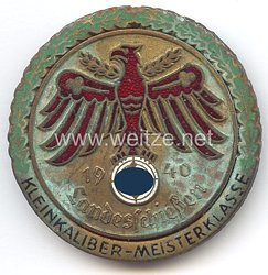 Standschützenverband Tirol-Vorarlberg -Landesschießen 1940 in Gold mit Eichenlaubkranz