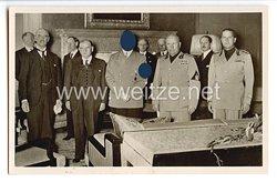 """III. Reich - Propaganda-Postkarte - """" Adolf Hitler - Welthistorische Viermächte-Konferenz in München 29.9.38 """""""
