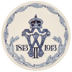 Ehrenschale aus Meißner Porzellan des Infanterie-Regiment Kaiser Wilhelm (2. Großherzogl. Hess.) Nr. 116
