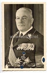 """III. Reich - Portraitpostkarte von Präsident des Geheimen Kabinettsrates Freiherr von Neurath """""""