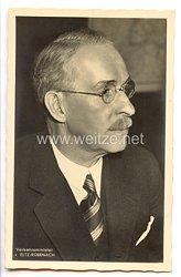 III. Reich - Portraitpostkarte von Verkehrsminister v. Eltz-Rübenach