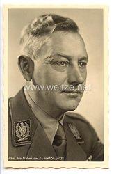 III. Reich - Portraitpostkarte von Chef des Stabes der SA Viktor Lutze