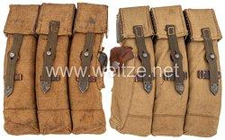 Wehrmacht 2 Magazintaschen für das Sturmgewehr MP 44