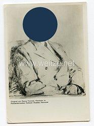 III. Reich gedrucktes Foto von Adolf Hitler