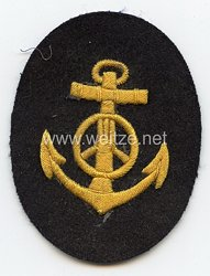Kriegsmarine Ärmelabzeichen für einen Kraftfahrmaat