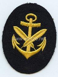 Kriegsmarine Ärmelabzeichen Schreibermaat