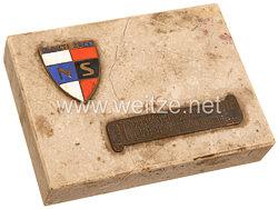 III. Reich - Tschecheslowakei - Narodni Sourucenstvi ( NS ) ( Tschechische NSDAP ) - Schreibtischdekoration