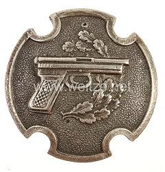 Lettland Scharfschützenabzeichen für Pistolenschützen in Silber