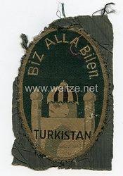 Heer Ärmelschild eines Turkestanischen Freiwilligen in der Wehrmacht