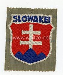 """Wehrmacht Heer Ärmelschild """"Slowakei"""" der slowakischen Freiwilligen"""
