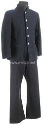 Japan 2. Weltkrieg Kaiserlich Japanische Marine, blaue Bluse und Hose für einen Unteroffizier
