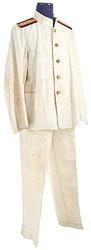 Japan 2. Weltkrieg Kaiserlich Japanische Marine, Weiße Bluse und Hose für einen Arzt