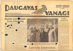 III. Reich / Waffen-SS / Litauen - Frontzeitung