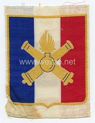 Frankreich 2.Weltkrieg Vichy Regierung, Abzeichen für das Sporthemd der Französischen Streitkräfte nach den Waffenstillstand, Ausführung für die Artillerie